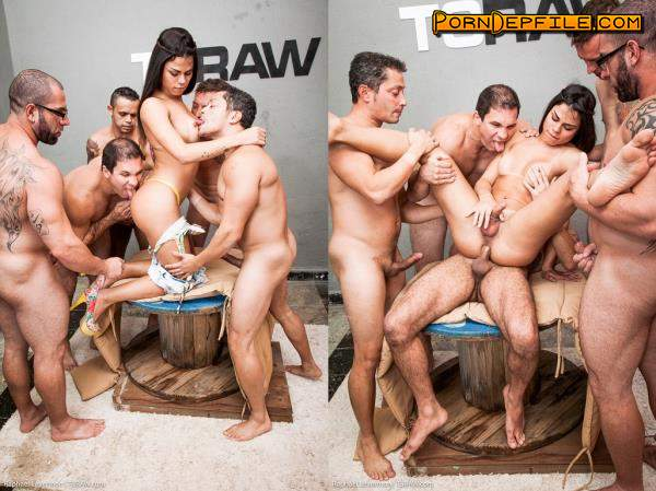 TSRaw: Raphael Levermont - Raphael Levermont Gangbang (GangBang, Anal, Transsexual, Shemale) 720p