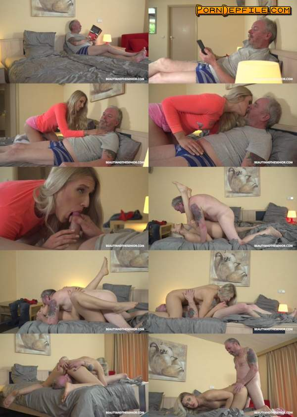 BeautyAndTheSenior: Diane Chrystall - Young and Old (Masturbation, Blonde, Mature, Teen) 1080p