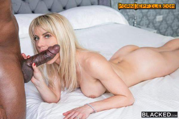 Blacked: Cassie Bender - You Talk Too Much (Doggystyle, Creampie, Big Tits, Interracial) 480p