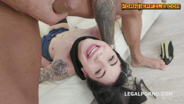 LegalPorno: Charlotte Sartre - Gagland Wet Edition, Charlotte Sartre gets Gagged Manhandled, pissed by 4 guys with Drink Facial GIO914 (SD, Toys, Anal, Pissing) 480p