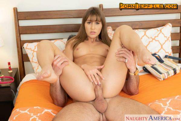 SleazyStepdad, NaughtyAmerica: Paige Owens - Naughty America (Doggystyle, Deep Throat, Brunette, Teen) 360p