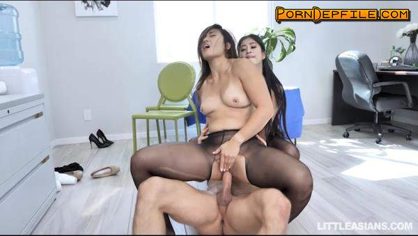 TeamSkeet, LittleAsians: Jade Kush, Nyomi Star - Asian Labia For Lunch (Blowjob, Facial, Asian, Threesome) 480p