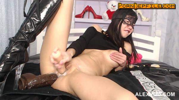 AlexVod, HotKinkyJo.xxx: HotKinkyJo - Both holes dildo play - gape (Fetish, Webcam, Prolapse, Fisting) 720p