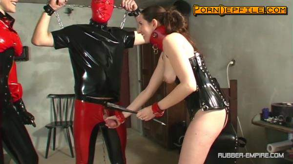 Rubber-Empire: The Baroness - A Nasty Couple Therapy (HD Porn, Fetish, Rubber, Femdom) 720p