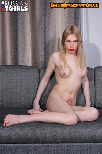 Grooby, RussianTGirls: Alice Hilton - Alice Caresses Her Cock And Cums! (Solo, Russian, Transsexual, Shemale) 1080p