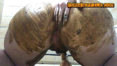 ScatShop: ChubbiBunni - New Apartment Smear (Scat) 1080p