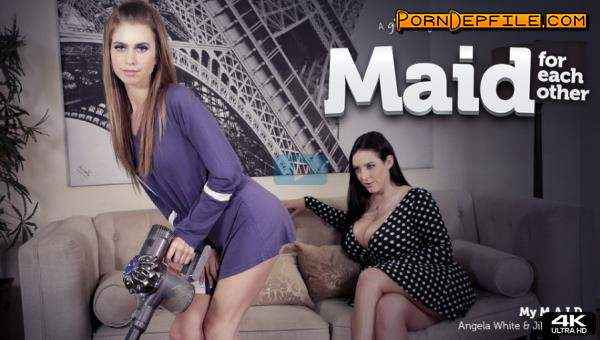 GirlsWay: Angela White, Jill Kassidy - Maid For Each Other: My M.A.I.D.D (Brunette, Big Tits, Teen, Lesbian) 1080p
