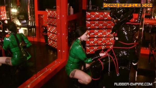 Rubber-Empire: Total Control Over My Rubber Object (HD Porn, Fetish, Rubber, Femdom) 720p