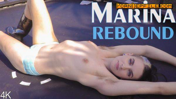 GirlsOutWest: Marina - Marina Rebound (HD Porn, Hairy, Solo) 2160p