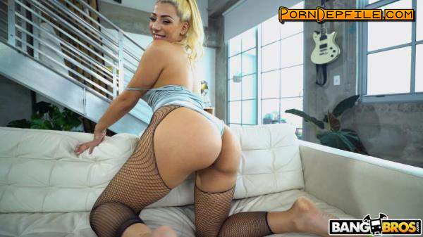 MonstersOfCock, Bangbros: Valentina Jewels - Valentina Jewels Loving The Large Cock (Cumshot, Blonde, Amateur, Interracial) 1080p