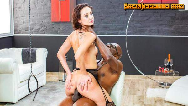 LetsDoeIt, HerLimit: Freya Dee - My First Anal Scene (Cumshot, Brunette, Interracial, Anal) 720p