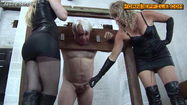 Desire-her: Two Mistresses - Hard CBT (Germany, Fetish, Smoking, Femdom) 720p