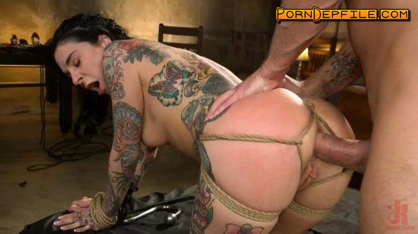 BrutalSessions, Kink: Stirling Cooper, Joanna Angel - Joanna Angel Punished with Rope Bondage and Rough Anal (Anal, BDSM, Bondage, Spanking) 540p