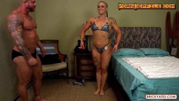 BrickYates: Viking, Princess - San Diego Bodybuilders Fuck Before Fitness Competition (Natural Tits, Cumshot, Blonde, Amateur) 1080p