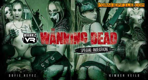 WankzVR: Kimber Veils, Sofie Reyez - The Wanking Dead: Special Injection (Facesitting, SideBySide, Oculus, Gear VR) (Oculus Rift, Vive, GO, Samsung Gear VR) 1920p