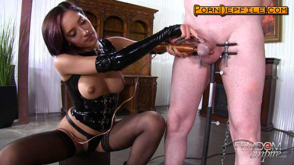 FemdomEmpire: Chloe Amour - Cock Claws (Brunette, Fetish, Latex, Femdom) 1080p