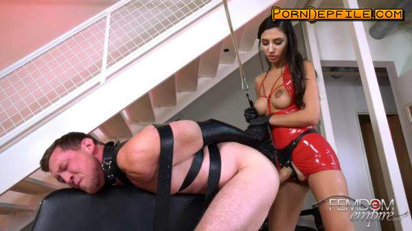 FemdomEmpire: Gianna Dior - Abused by Dick (Fetish, Bondage, Femdom, Strapon) 1080p