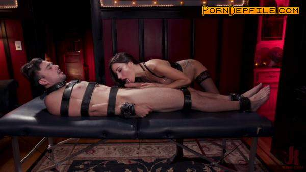DivineBitches, Kink: Gia DiMarco, Mason Lear - The House Slave: Gia DiMarco Brings Mason Lear Out to Play (Facesitting, Bondage, Femdom, Strapon) 720p