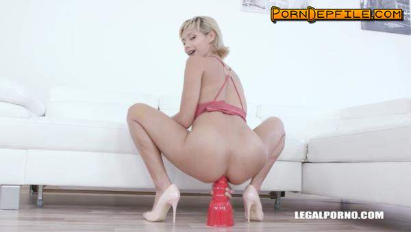 LegalPorno: Veronica Leal, Joachim Kessef, Alan Gwada - Who said Veronica Leal cant take two cocks in the ass? IV330 (Creampie, Blonde, Interracial, Anal) 480p