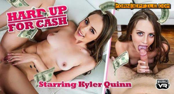 WankzVR: Kyler Quinn - Hard Up For Cash (Cowgirl, VR, SideBySide, Oculus) (Oculus Rift, HTC Vive, Windows Mixed Reality, Pimax) 2300p