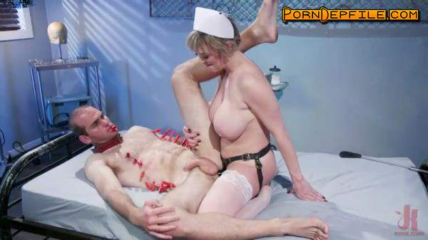DivineBitches, Kink: Dee Williams, Jonah Marx - Nurse Williams: Dee Williams Dominates Patient Jonah Marx (Facesitting, Bondage, Femdom, Strapon) 540p