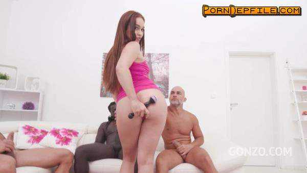 LegalPorno: Ginebra Bellucci, Cristian Clay, Angelo Godshack, Freddy Gong - Ginebra Bellucci 3on1 fuck session with DP, DAP DVP SZ2269 (Brunette, GangBang, Interracial, Anal) 480p