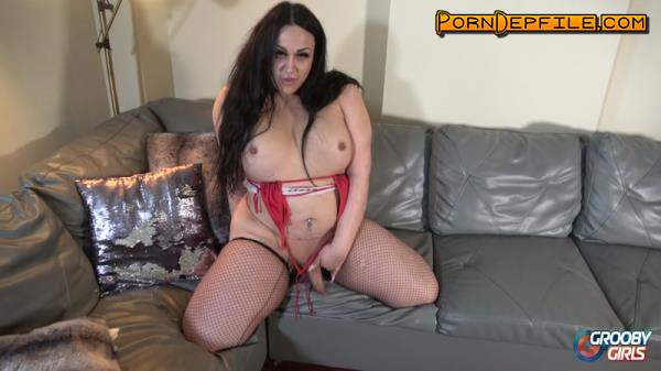 Grooby, GroobyGirls: Elaine - Elaine is Back! (BBW, Solo, Transsexual, Shemale) 1080p