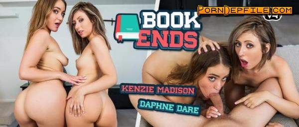 WankzVR: Daphne Dare, Kenzie Madison - Book Ends (VR, Facesitting, SideBySide, Smartphone) (Smartphone) 1080p