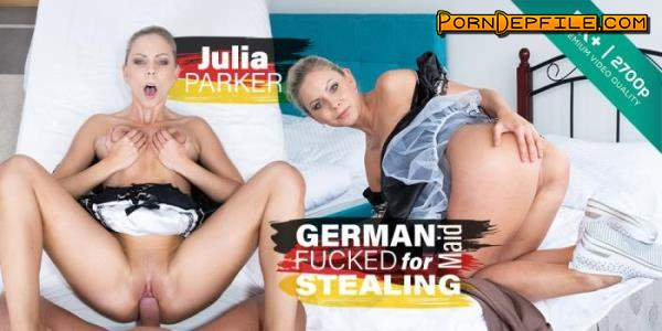 CzechVR: Julia Parker - German Maid Fucked for Stealing - Czech VR 282 (Czech, VR, SideBySide, Oculus) (Oculus Rift, Vive) 2700p