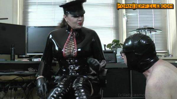 Clips4sale, Lady-Asmondena: Mistress Asmondena - Wanking Spithead (Fetish, Rubber, Latex, Femdom) 720p