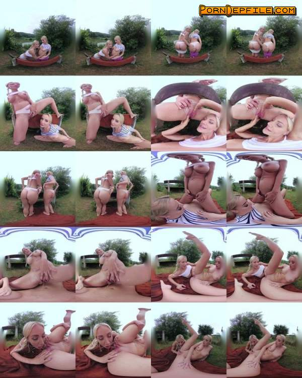 CzechVRFetish: Emma Button, Natalie Cherie - Czech VR Fetish 211 - A Wet Encounter (Pissing, VR, SideBySide, Oculus) (Oculus Rift, Vive) 1920p
