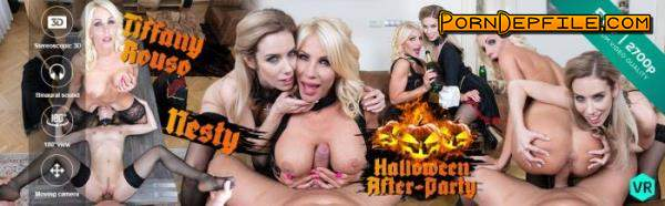CzechVR: Nesty, Tiffany Rouso - Czech VR 314 - Halloween After-Party (Milf, VR, SideBySide, Gear VR) (Gear VR) 1440p