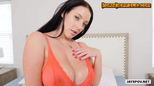 JaysPOV: Angela White - Is A Vixen With Huge Natural Tits (Natural Tits, Cumshot, POV, Big Tits) 1080p
