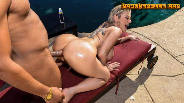 Brazzers, BigWetButts: Dee Williams - Backyard Banging (Asian, Blonde, Big Tits, Anal) 720p