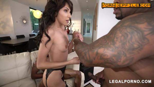 LegalPorno: Hime Marie, Isiah Maxwell, Rico Strong, Ray Black - Hime Marie Round 2 for this tiny girl taking huge BBC AA056 (Brunette, GangBang, Interracial, Anal) 480p