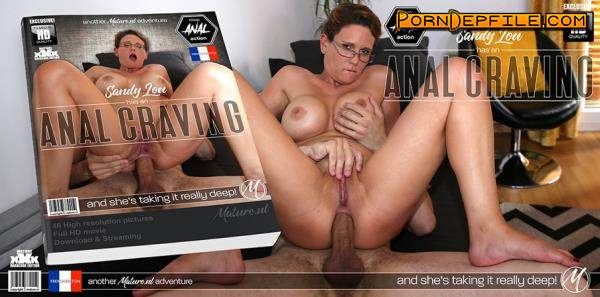 Mature.nl, Mature.eu: Sandy Lou - She just loves a big hard cock up her ass and pussy (Big Tits, Mature, Anal, France) 1080p