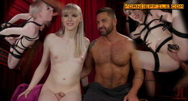 TSSeduction, Kink: Dominic Pacifico, Lianna Lawson - Bad Little Bitch: Lianna Lawson Punished, Suspended and Fucked (BDSM, Bondage, Latex, Shemale) 540p