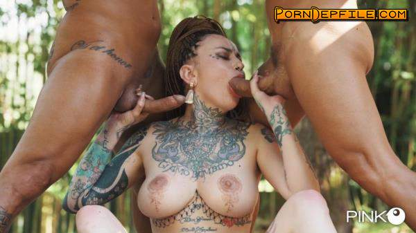 PinkoClub: Korinha - Insatiable With Two Cocks In Her Mouth (SD, Hardcore, Gonzo, Anal) 406p