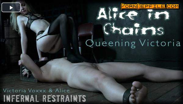 InfernalRestraints: Alice, Victoria Voxxx - Alice In Chains: Queening Victoria (HD Porn, BDSM, Torture, Humiliation) 720p