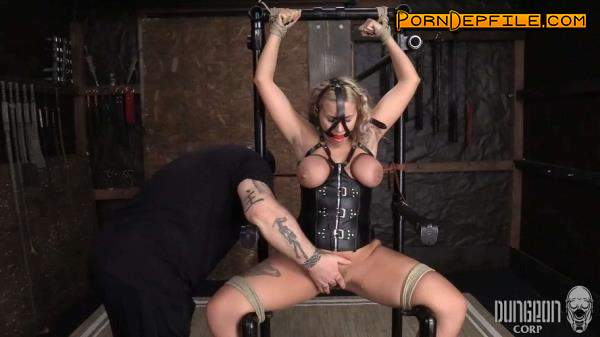DungeonCorp, SocietySM: Indica Monroe - Bound for a Surprise (BDSM, Bondage, Torture, Humiliation) 1080p