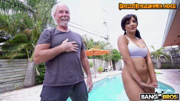 AssParade, BangBros: Kosame Dash - Old Man Loves The Booty (Brunette, Big Ass, Big Tits, Amateur) 480p