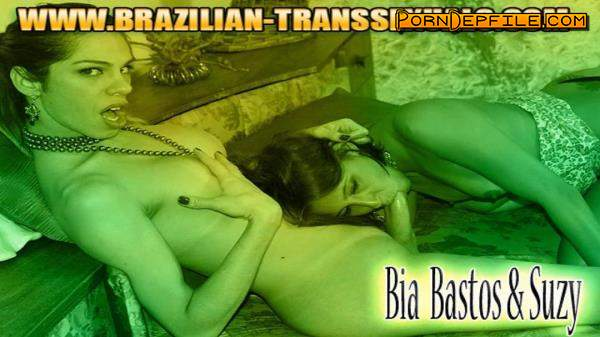 Brazilian-Transsexuals: Bia Bastos, Suzy Anderson - Loves Suzy's Wet Pussy! (Brunette, Blonde, Transsexual, Shemale) 720p