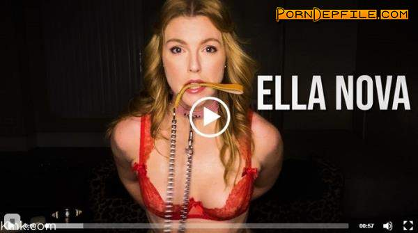 KinkyBites, Kink: Ella Nova - Well Trained and Always Waiting (Blonde, Solo, Anal, BDSM) 480p