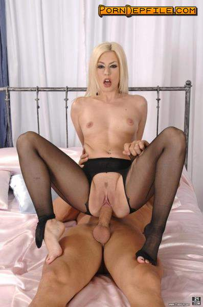 DailySexDose, 21Sextury: Jessie Volt - Naughty Jessie's Fabulous Feet (Blowjob, Facial, Blonde, Teen) 1080p
