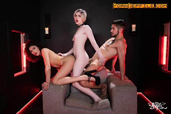 TransAngels: Alisia Rae, Ella Hollywood - Bitch Craft Part 3 (Cumshot, Anal, Transsexual, Shemale) 480p