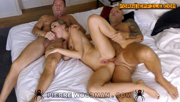 WoodmanCastingX: Oxana Chic - XXXX - My first DP was great (SD, Casting, Anal, Threesome) 540p