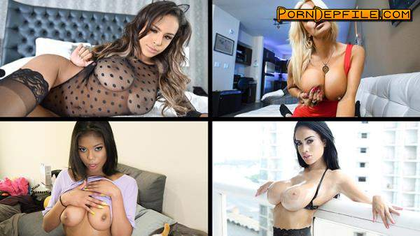 TeamSkeetSelects, TeamSkeet: Bella Dulce, Harlowe Blue, Savannah Sixx, Honey Moon - Featured Hotness (Cumshot, Brunette, Blonde, Big Tits) 360p
