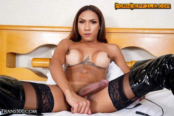 TransAtPlay, Trans500: Maria Flavia - Mainly Maria (Solo, Big Tits, Transsexual, Shemale) 360p