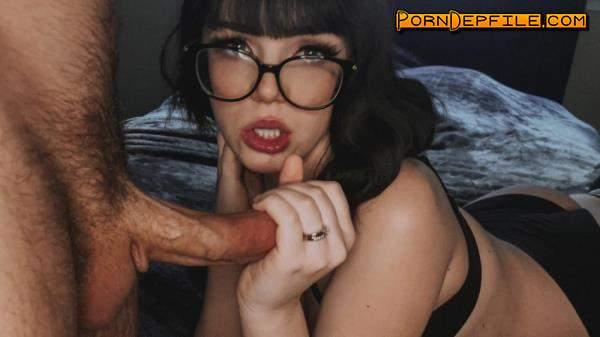 TrueAmateurs: Faye Valentine - PAWG Teen Gets Fucked By Big Dick (Handjob, Deep Throat, Brunette, Amateur) 480p