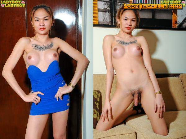 LadyBoy-LadyBoy: Chelsie - Chelsie Loves To Play On The Couch (Solo, Transsexual, Shemale, Ladyboy) 720p